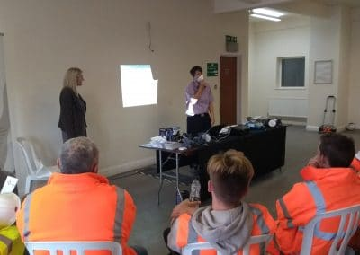 Health & Safety day. Quantitive porta count testing